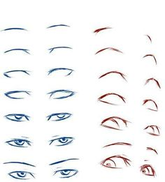 Eye Drawn Female 54 New Ideas Anime Eye Drawing, Anime Drawings Sketches, Art Reference Poses, Drawings, Drawing Tutorial, Anatomy Drawing, Anime Eyes, Anime Drawings Tutorials