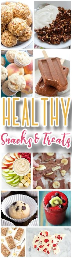 Healthy Snacks and Energy Treats Recipes for Kids AND Adults! - The Best Quick, Easy and Yummiest around! - Dreaming in DIY