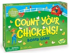 15.99*****Amazon.com: Peaceable Kingdom Count Your Chickens Award Winning Cooperative Game for Kids: Toys & Games