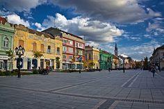 Main street in Sombor