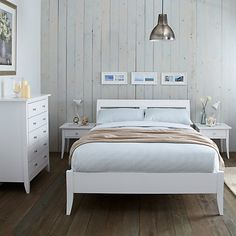 Bedroom Furniture John Lewis buy john lewis helston bed frame, king size online at johnlewis