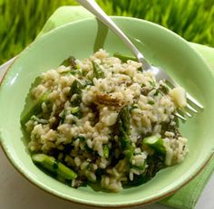 Spring Risotto with Ramps, Asparagus, and Morels--I hope you are all ...