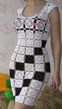 rochie Grannies Crochet, Love Crochet, Crochet Blouse, Knit Picks, Dena, Crochet Crafts, Crochet Clothes, Arts And Crafts, Knitting