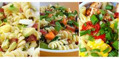 Popular Pasta Salads! #pastapalooza