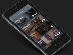 Smart Home App Concept by Armas Nurbahari