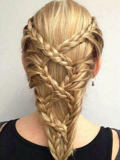 Braided Hairstyles: top 10 braided girl hairstyles for Long hair 2020 Cool Braid Hairstyles, Pretty Hairstyles, Girl Hairstyles, Hairstyle Ideas, School Hairstyles, Wedding Hairstyles, Children Hairstyles, Teenage Hairstyles, Fashion Hairstyles