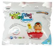 Jumping Bubbles, the latest product from JumpingClay. This is an air dry foam clay that can easily be mixed with all our colours to give some cool bubbly textures. Great for modelling large areas, or for adding texture for fun little artworks.