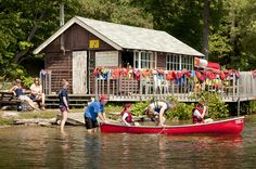 Discover outdoor camping experiences on Lake Couchiching at YMCA Geneva Park