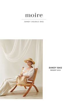 [moire므아르]SANDY DOUBLE BAG (3COLOR) Lookbook Layout, Lookbook Design, Email Design Inspiration, Layout Inspiration, Fashion Website Design, Fashion Graphic Design, Photography Studio Spaces, Magazine Layout Design, Poster Layout