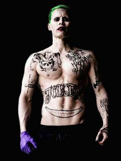 Still can't believe this is Jared Leto, who is so unbelievably sexy IRL!!!