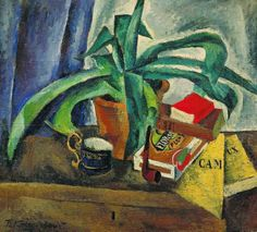 journalofanobody: alongtimealone: Konchalovsky, Pyotr - 1916 Agave (Tretyakov Gallery, Moscow, Russia) (by RasMarley) niiiice! thanks for posting! Johann Wolfgang Von Goethe, Drawing School, French Paintings, Soviet Art, Still Life Oil Painting, Plant Art, Art Database, Oil Painting Reproductions, Russian Art