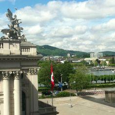 Blick aus dem Büro, 21.5.2012, 10:55 Uhr