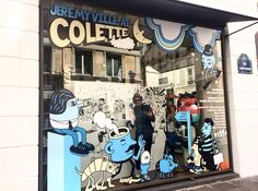 Colette Paris | Jeremy Ville windows