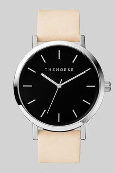 The Horse Polished Steel Watch #Refinery29