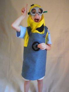 Minion Costume by BumWrapsnStuff on Etsy, $35.00