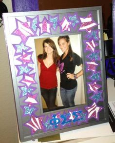 big and little picture frame