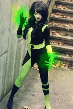 Shego cosplay from Kim Possible by Mie Rose. Photo by Kami Renee.