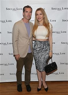 Justin Mitchell and Devorah Rose attend the Social life Magazine Memorial Day Event