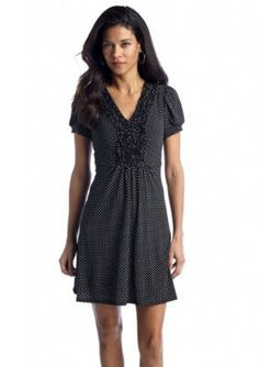 Rabbit Rabbit Rabbit  Petite Polka Dot Dress