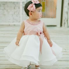 b898f88b945c 44 Best Baby Girls Christening Gowns and Dresses images