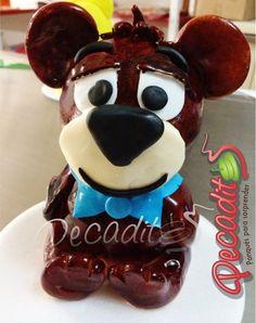 #Oso #Yogi #Cake   #PEDIDOS: gerencia@pecaditos.com.co #TELÉFONOS: 6435035 - 3008950900 – 3105672077 #PIN: 2A665796 #Whatsapp: 3008950900 #Ponqués #Bucaramanga — at #Cabecera: Cra.35 #54-113.
