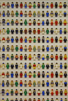 Collection of lego figures. Photo by StartTheDay.