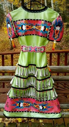 michelle reed jingle dress Native American Regalia, Native American Heritage Month, Native American Clothing, Native American Fashion, Dance Outfits, Dance Dresses, American Apparel, Jingle Dress Dancer, Navajo Language