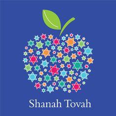 Greetings Cards Rosh Hashanah Cards Jewish New Year – Free Printable Calendar Rosh Hashanah Greetings, Happy Rosh Hashanah, Rosh Hashanah Cards, Cultura Judaica, Arte Judaica, Shana Tovah, Jewish High Holidays, Happy Holidays, Jewish Celebrations