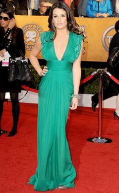 Going Green Never Looked So Good from Lea Michele's Best Looks   E! Online