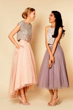 for the flower girl, junior bridesmaid or bridesmaid who doesn't like frilly dresses