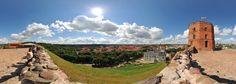 360° of Castle Complex - Vilniaus pily - Vilnius, Lithuania