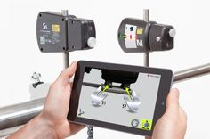 Fixturlaser Laser Kit - Simple, wireless, laser shaft alignment meets your smartphone and tablet.