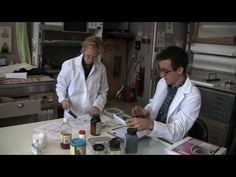 Created by Jay Lurie Productions, a company based in Buffalo, New York. Paper Professor Judith Walsh demonstrates how she teaches the diverse field of paper conservation