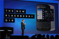BlackBerry's Q10 merges a keyboard with BB10