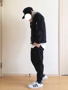 いつもご覧いただき本当にありがとうございます😊 前回にも多くの反応ありがとうございました☺ 今日 Casual Outfits, Normcore, Boys, How To Wear, Stuff To Buy, Clothes, Black, Style, Fashion