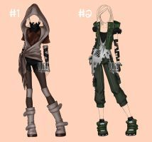 [closed] Auction Outfit post apocalypse 2-3 by YuiChi-tyan