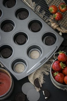 Backform von Lakeland für Mini-Cheesecakes