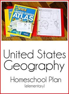 Usa Geography Homeschool Plan Elementary Usa Geography Homeschool Plan Elementary Never Planned To Homeschool Now Wouldn T Trade It For The World United States Geography Homeschool Plan For Elementary Geography Worksheets, Geography Activities, Geography For Kids, Geography Lessons, Dinosaur Activities, Math Worksheets, Educational Activities, Study History, Teaching History