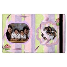 cupcakes  by Ivelyn - Apple iPad 2 Flip Case  Insert your own photos