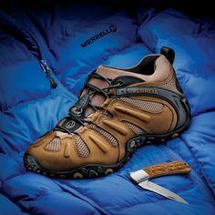 MERRELL Chameleon II Stretch Trekking de Randonnée en Plein Air Chaussures De Sport Homme Nouveau