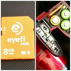 Eyefi Mobi, la carte SD connectée! (Concours inside) | Beautytricks