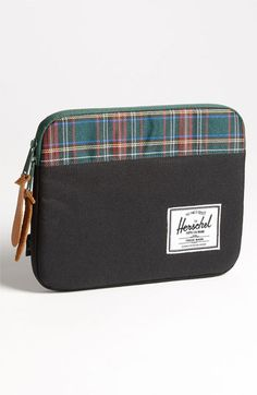 Herschel Supply Co. 'Tartan Collection - Anchor' iPad Case available at Nordstrom