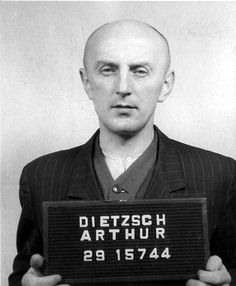 Arthur Dietzsch was a prisoner who was the chief Kapo of Block 46 of Buchenwald concentration camp, where medical experiments to find a vaccine for typhus were done. At the trial, he made a statement in which he claimed that he was an active opponent of the Nazi regime; he claimed that he had never harmed anyone, but had saved the lives of many prisoners at the risk of his own life.