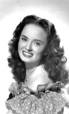 "scottydex: "" Ann Blyth 1940s, starlet (and movie star in the 50s) """