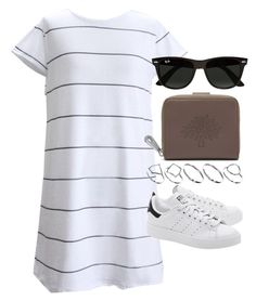 """Style #10450"" by vany-alvarado ❤ liked on Polyvore featuring Mulberry, adidas Originals, Ray-Ban and ASOS"
