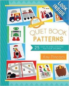 World Wide Wednesday: Quiet Book Ideas - The Inspired Home. These are super!
