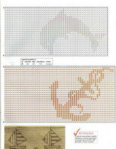 Fabinha Gráficos Para Bordados: Ponto Oitinho