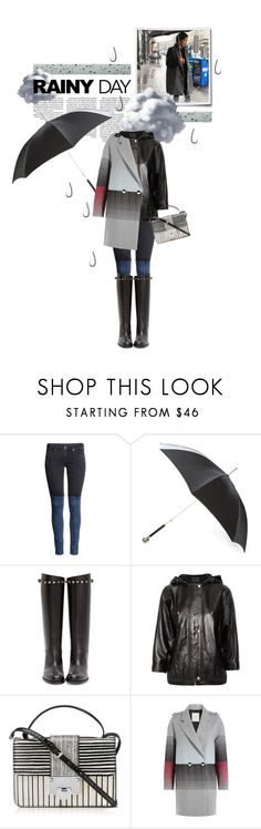 """Rainy Day Style"" by cultofsharon ❤ liked on Polyvore featuring moda, H&M, Alexander McQueen, Valentino, Alexander Wang, Jimmy Choo e Marco de Vincenzo"