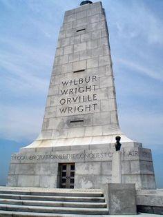 The Wright Brothers Memorial, Kill Devil Hills, Kitty Hawk, North Carolina