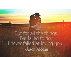 """Jason Aldean """"Don't Give Up On Me"""""""